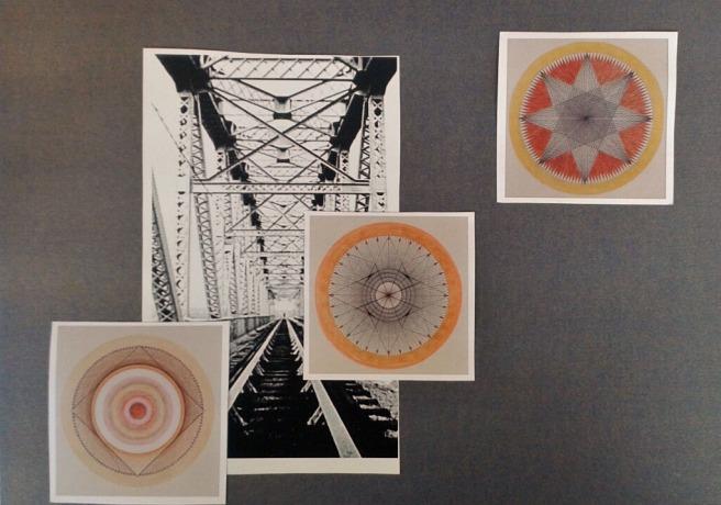 """Karen Raingold, September 2014, """"3 Minute Collage""""."""
