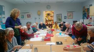 Arts and Dementia, Shenley Wood, Group Photo (Arts for Health MK)